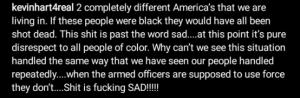 Blacks have always been disrespected