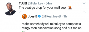 Stingy Men Association anthem-Tulenkey & Joey B